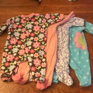 Carters Fleece Pajamas